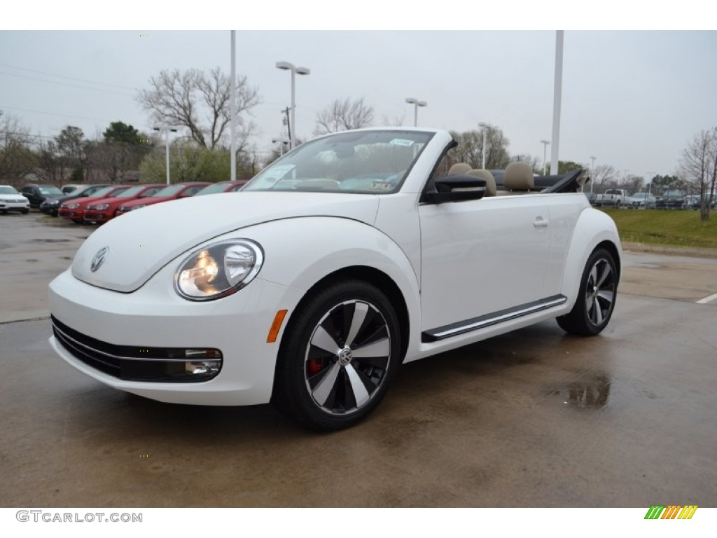 2013 Candy White Volkswagen Beetle Turbo Convertible