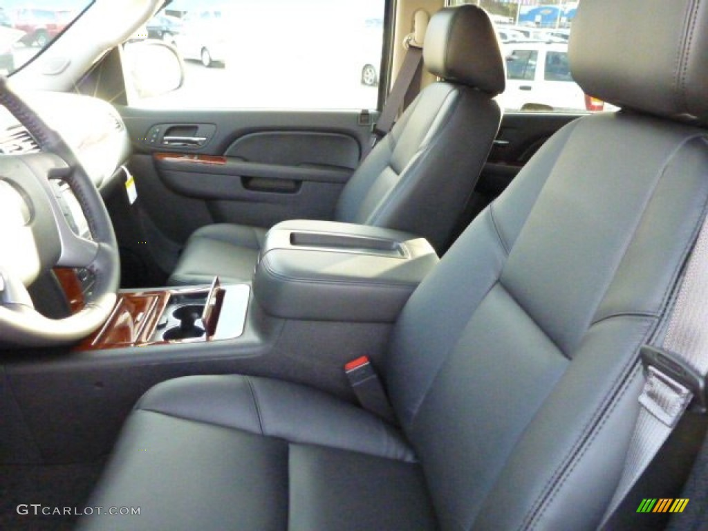 chevrolet avalanche interior ebony - photo #40