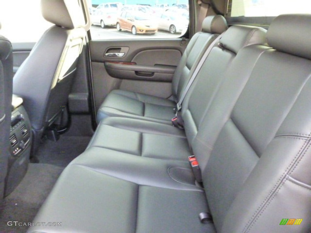 chevrolet avalanche interior ebony - photo #15