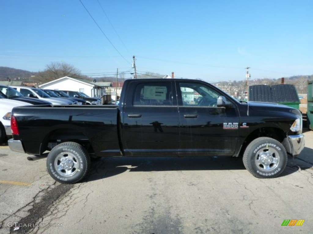 Black 2013 Ram 2500 Tradesman Crew Cab 4x4 Exterior Photo ...