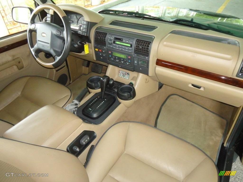 2001 Land Rover Discovery Ii Se Bahama Beige Dashboard Photo 78207549