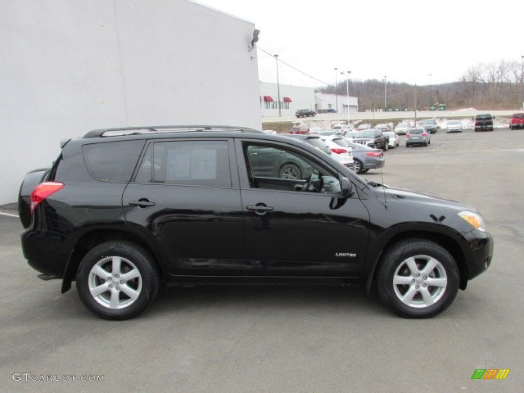 Black 2006 Toyota Rav4 Limited 4wd Exterior Photo