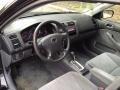 Gray 2003 Honda Civic Interiors