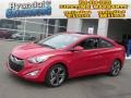 Volcanic Red 2013 Hyundai Elantra Coupe SE