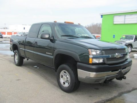 2003 chevrolet silverado 2500hd extended cab 4x4 data info and specs. Black Bedroom Furniture Sets. Home Design Ideas