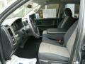 Dark Slate Gray/Medium Graystone 2011 Dodge Ram 1500 Interiors
