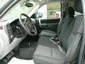 Dark Titanium Front Seat Photo for 2010 Chevrolet Silverado 1500 #78221485