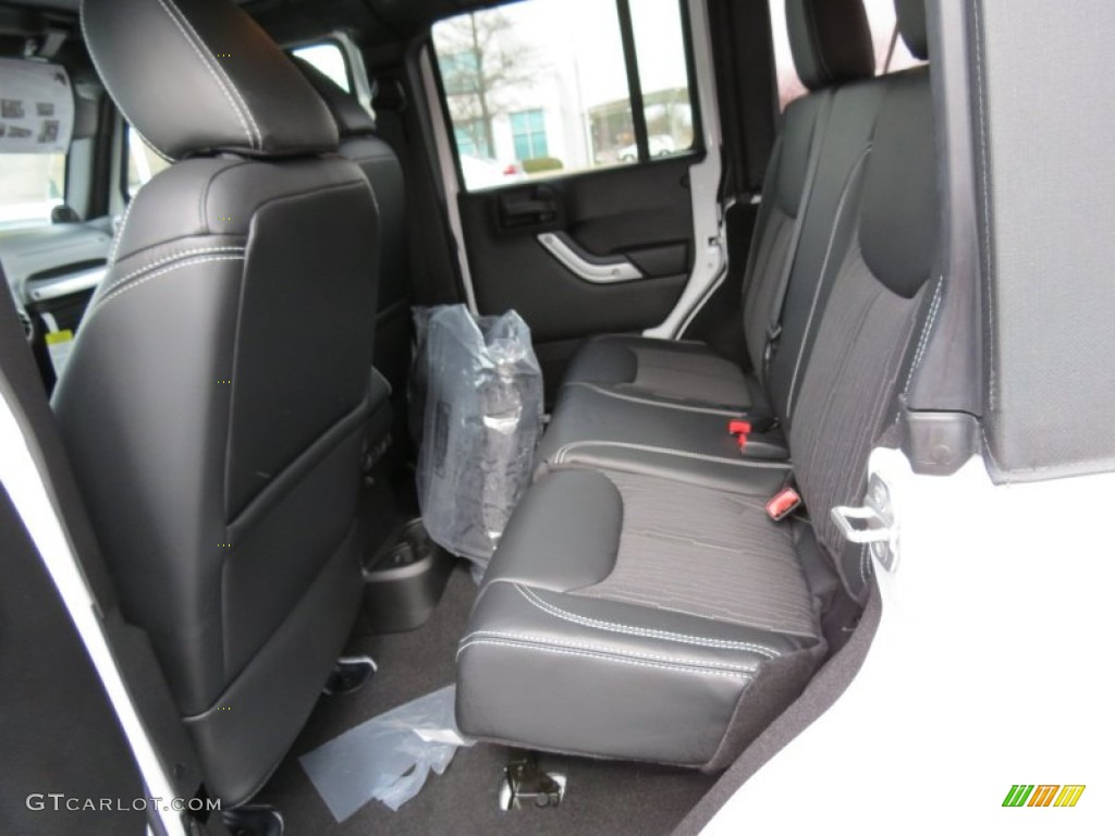 Black Interior 2013 Jeep Wrangler Unlimited Oscar Mike