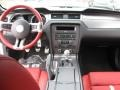 2013 Ford Mustang Brick Red/Cashmere Accent Interior Dashboard Photo