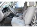 2006 Toyota Tundra Light Charcoal Interior Front Seat Photo