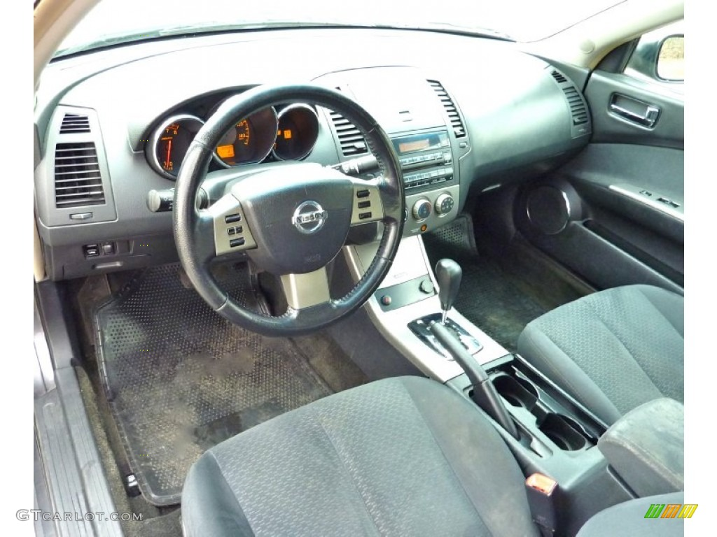 Charcoal Interior 2005 Nissan Altima 2 5 S Photo 78227590