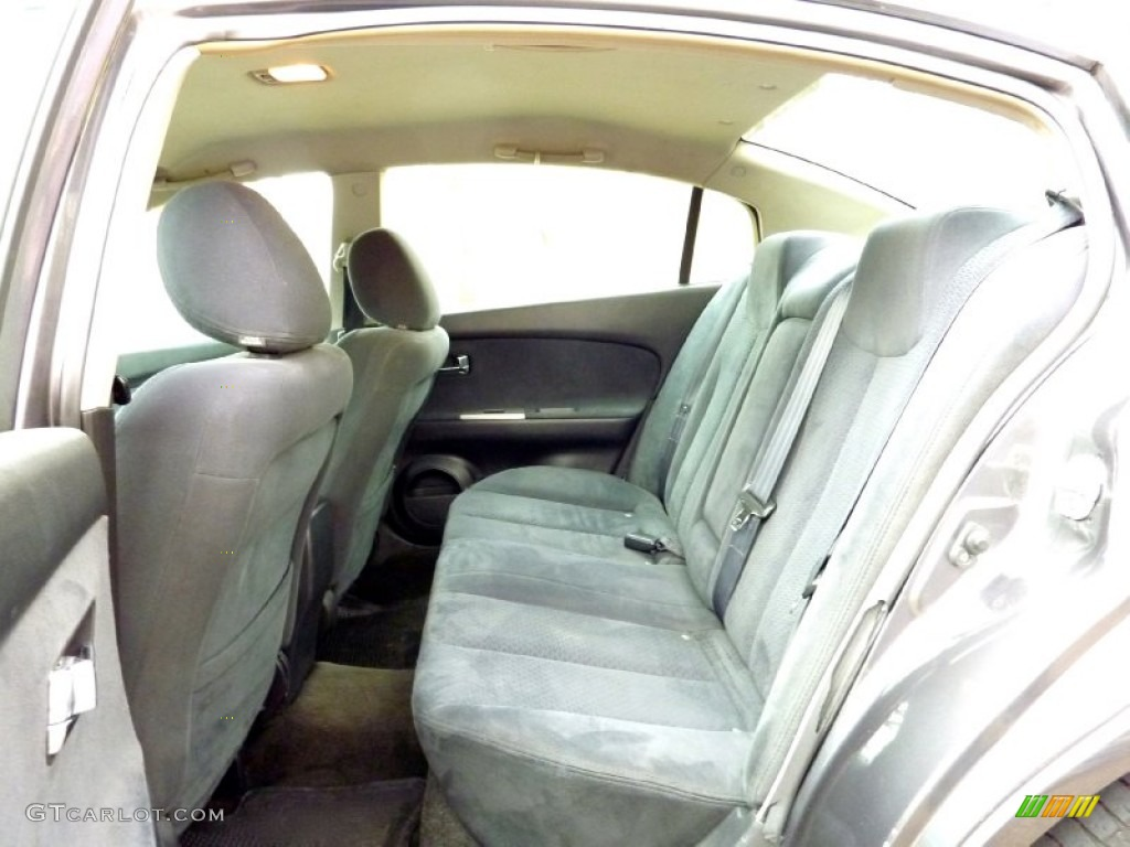 Charcoal Interior 2005 Nissan Altima 2 5 S Photo 78227908