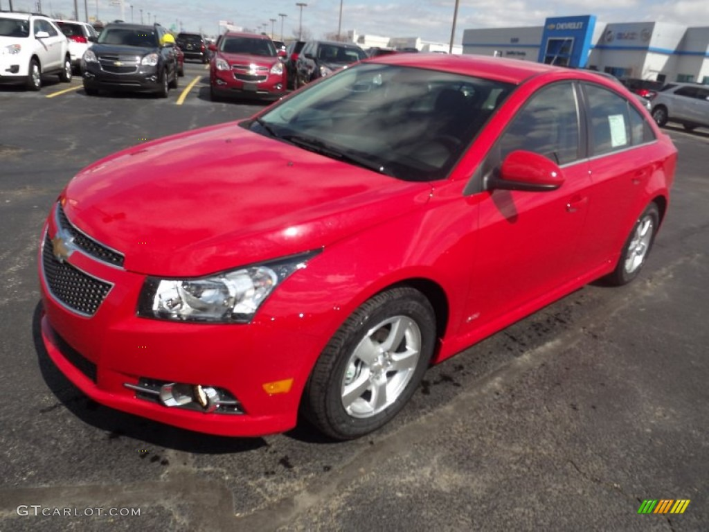 2013 Victory Red Chevrolet Cruze Lt Rs 78214138 Car Color Galleries