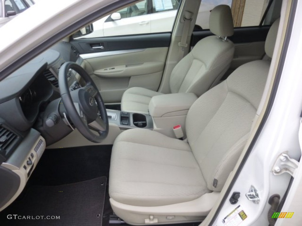 2011 Satin White Pearl Subaru Outback Premium Wagon 78214235 Photo 7 Car