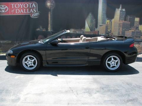 1997 Mitsubishi Eclipse Spyder GS Data, Info and Specs