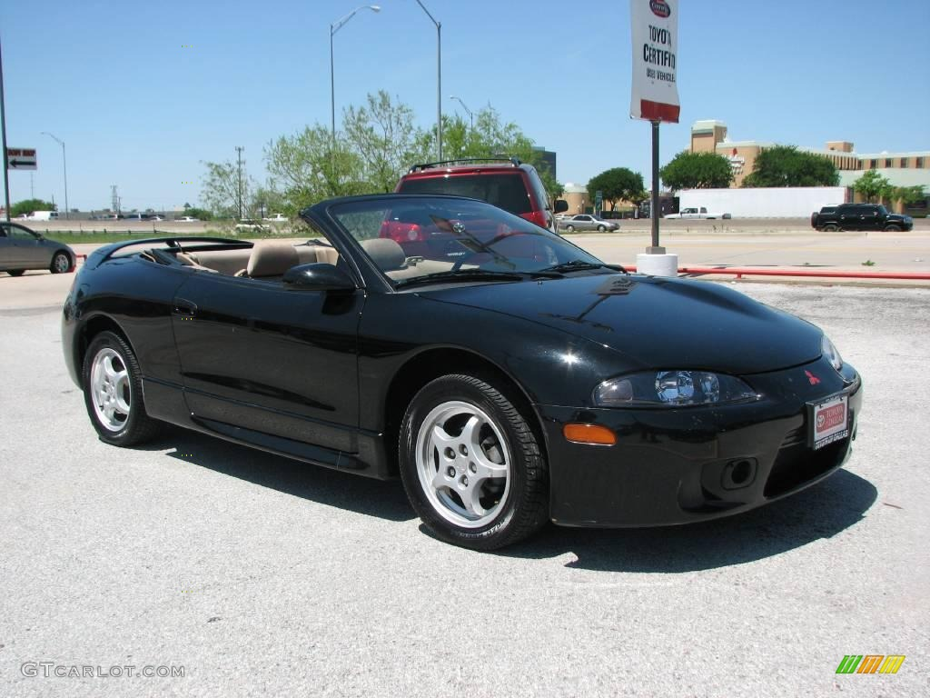 1997 kalapana black mitsubishi eclipse spyder gs 7788822. Black Bedroom Furniture Sets. Home Design Ideas
