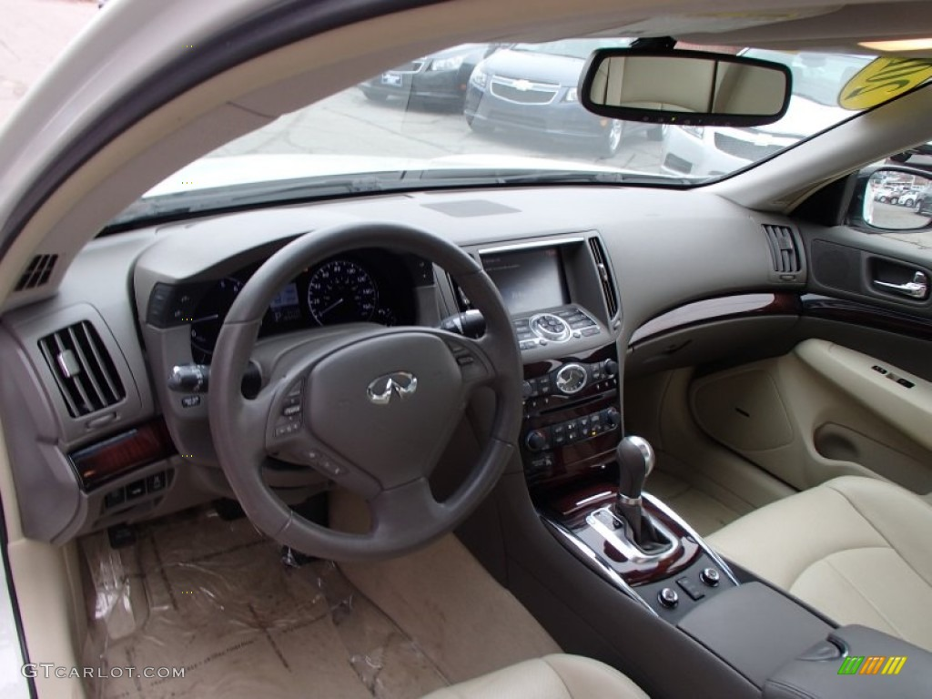 wheat interior 2010 infiniti g 37 x awd sedan photo 78236035. Black Bedroom Furniture Sets. Home Design Ideas