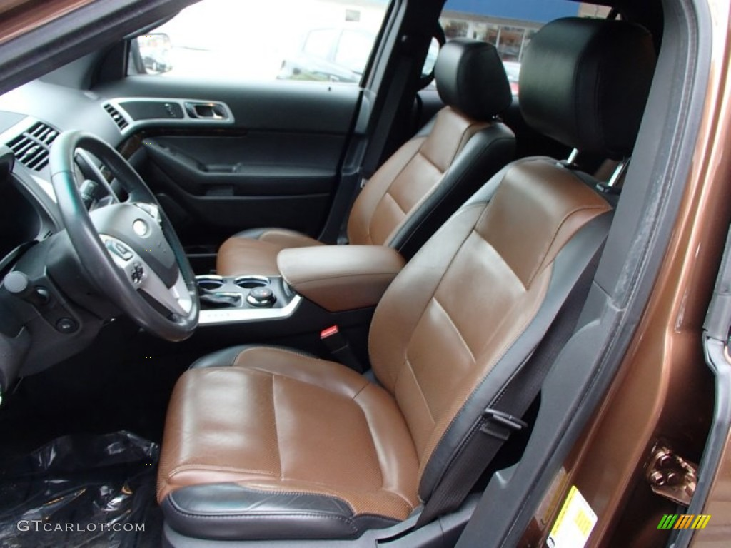 Pecan Charcoal Interior 2011 Ford Explorer Limited 4wd Photo 78241288