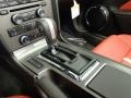 2014 Ford Mustang Brick Red/Cashmere Accent Interior Transmission Photo