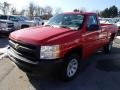 2013 Victory Red Chevrolet Silverado 1500 Work Truck Regular Cab  photo #2