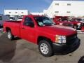 2013 Victory Red Chevrolet Silverado 1500 Work Truck Regular Cab  photo #4