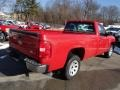 2013 Victory Red Chevrolet Silverado 1500 Work Truck Regular Cab  photo #6
