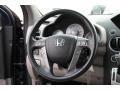 2010 Honda Pilot Beige Interior Steering Wheel Photo