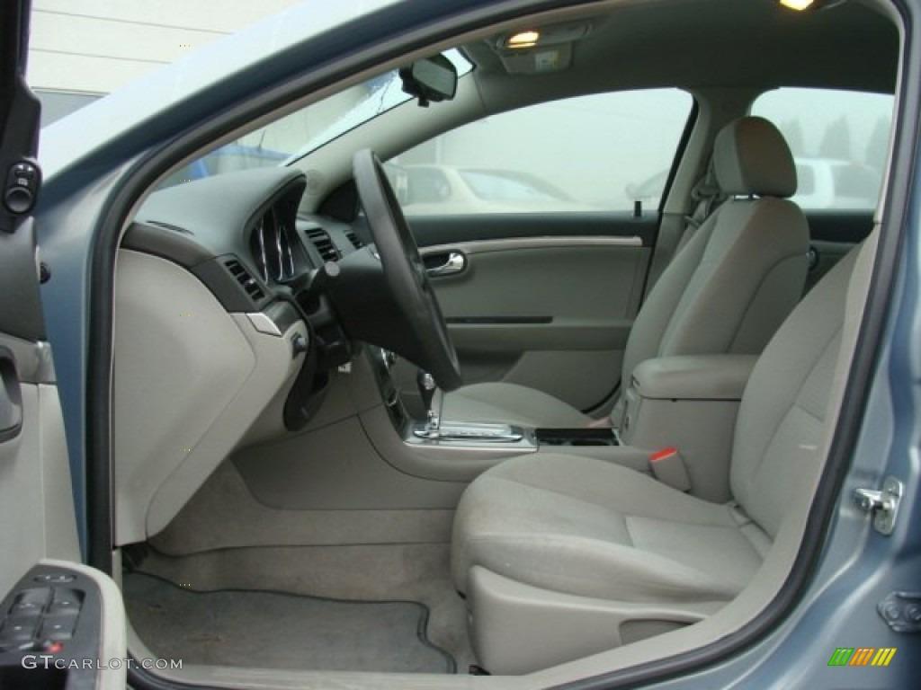 Gray interior 2007 saturn aura xe photo 78247695