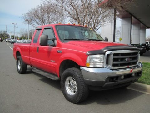 2003 Ford F250 Super Duty Lariat SuperCab 4x4 Data, Info and Specs