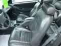 2000 Ford Mustang Dark Charcoal Interior Front Seat Photo