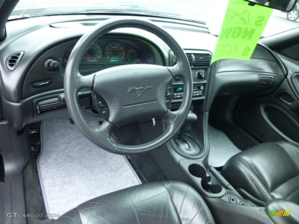 Dark charcoal interior 2000 ford mustang gt coupe photo 78254721 - Interior ford mustang ...