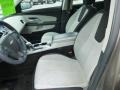 Jet Black/Light Titanium Front Seat Photo for 2010 Chevrolet Equinox #78256301