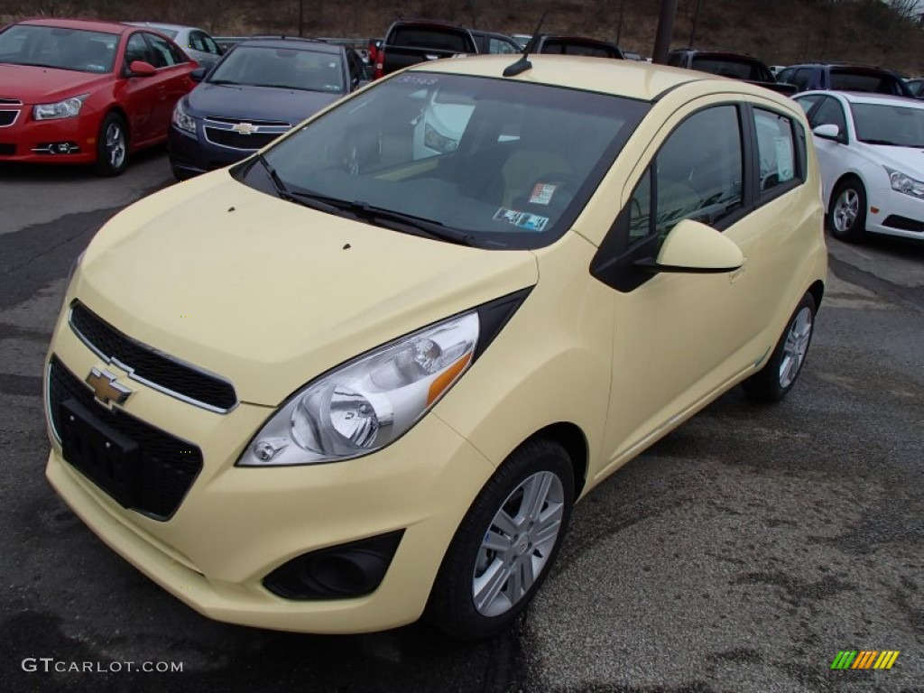 Lemonade (Yellow) 2013 Chevrolet Spark LS Exterior Photo #78259615 ...