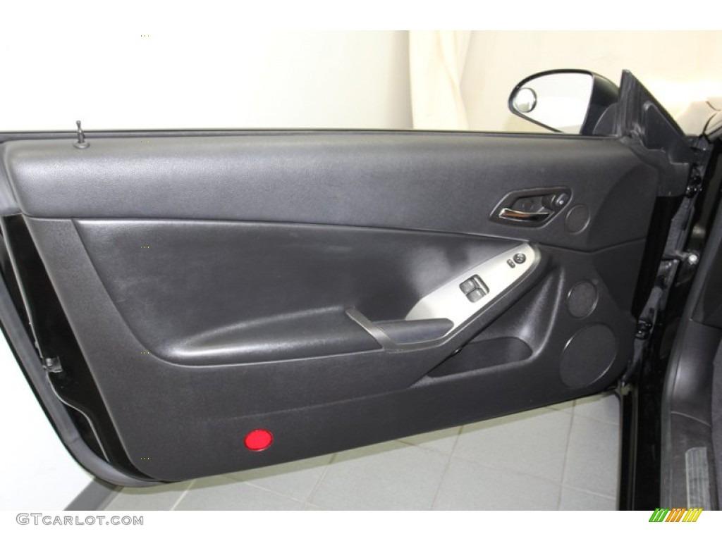 2007 Pontiac G6 Gtp Coupe Ebony Morocco Door Panel Photo