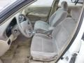 2000 Nissan Sentra Sand Interior Front Seat Photo