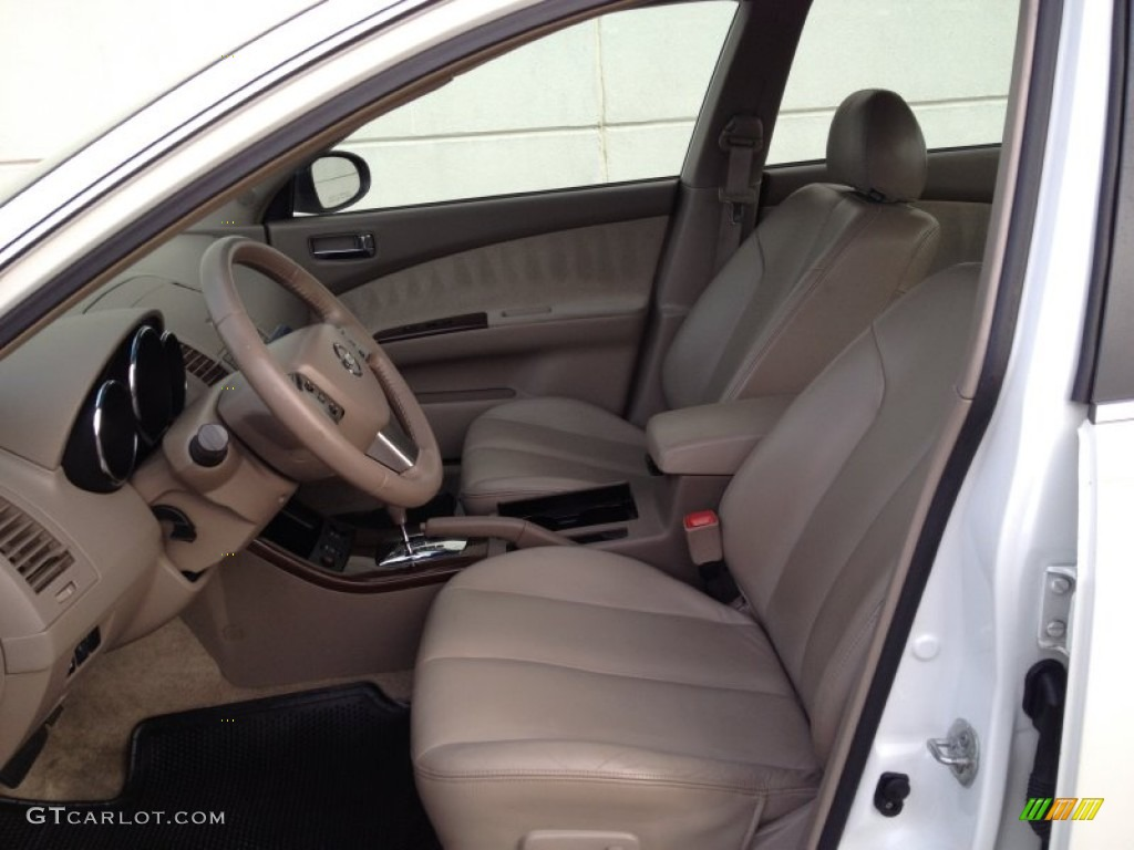 2005 Nissan Altima 3 5 Se Interior Color Photos