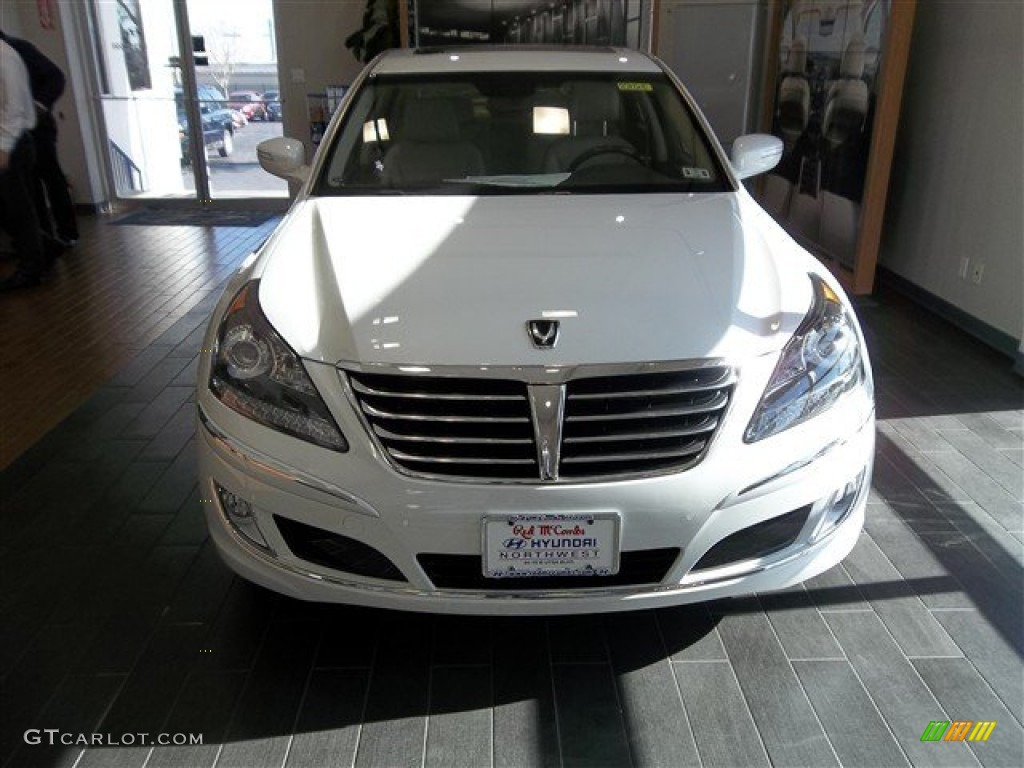 2013 White Satin Pearl Hyundai Equus Signature 78265985 Gtcarlot Com Car Color Galleries