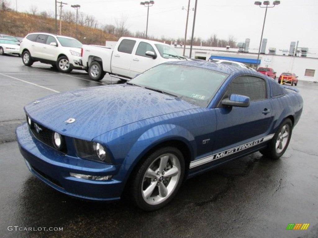 Vista Blue Metallic 2006 Ford Mustang GT Premium Coupe Exterior Photo #78270109