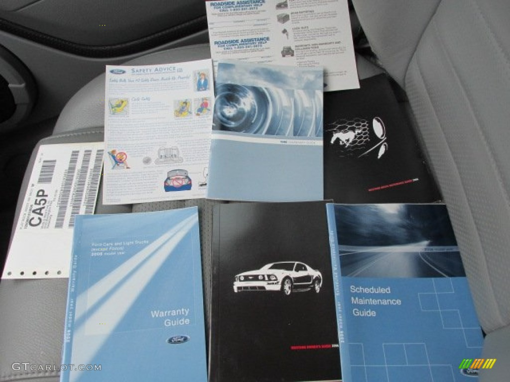 2006 Ford Mustang GT Premium Coupe Books/Manuals Photos