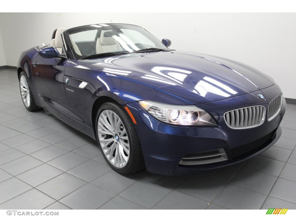 Deep Sea Blue Metallic 2009 Bmw Z4 Sdrive35i Roadster Exterior Photo 78271033 Gtcarlot Com
