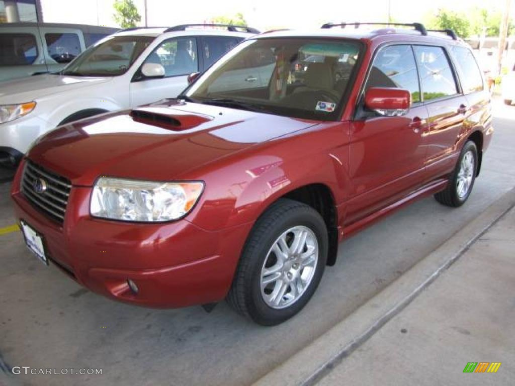 2006 garnet red pearl subaru forester 2 5 xt limited. Black Bedroom Furniture Sets. Home Design Ideas