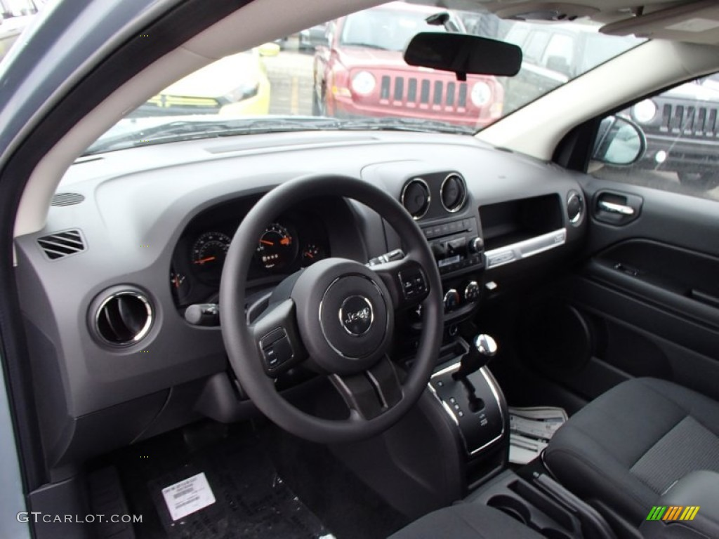 2014 jeep compass sport 4x4 dark slate gray dashboard. Black Bedroom Furniture Sets. Home Design Ideas
