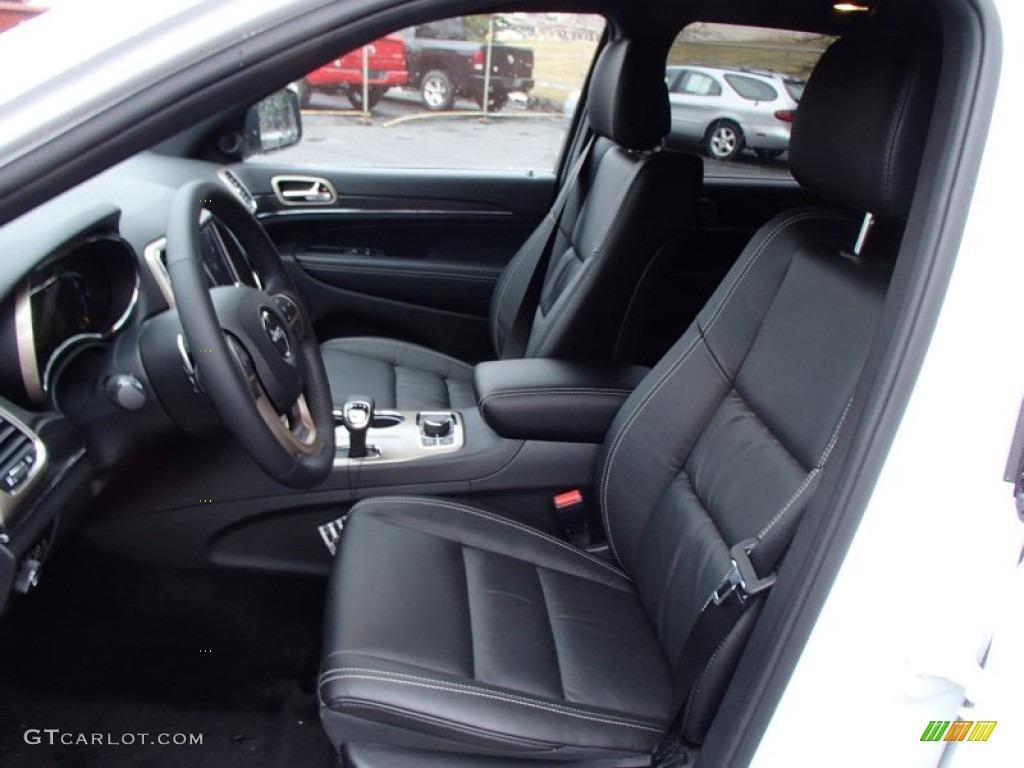 Morocco Black Interior 2014 Jeep Grand Cherokee Limited 4x4 Photo 78280019