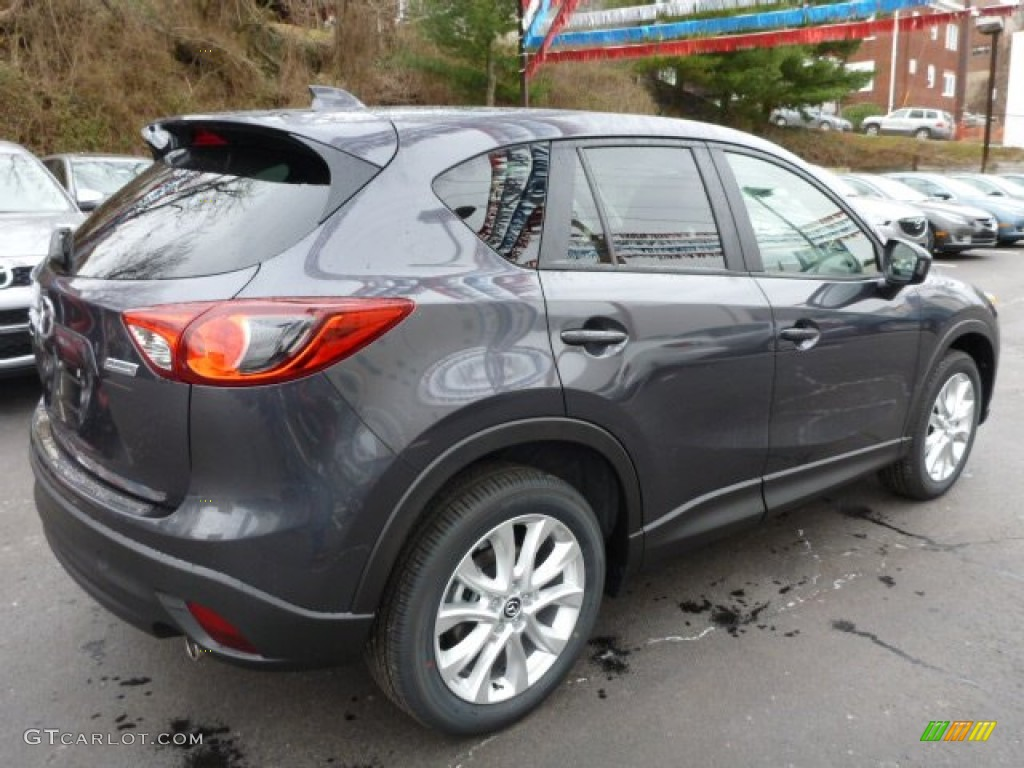 meteor gray mica 2014 mazda cx 5 grand touring awd exterior photo 78288291. Black Bedroom Furniture Sets. Home Design Ideas
