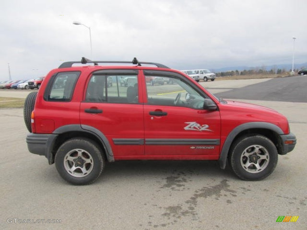 wildfire red 2001 chevrolet tracker zr2 hardtop 4wd. Black Bedroom Furniture Sets. Home Design Ideas