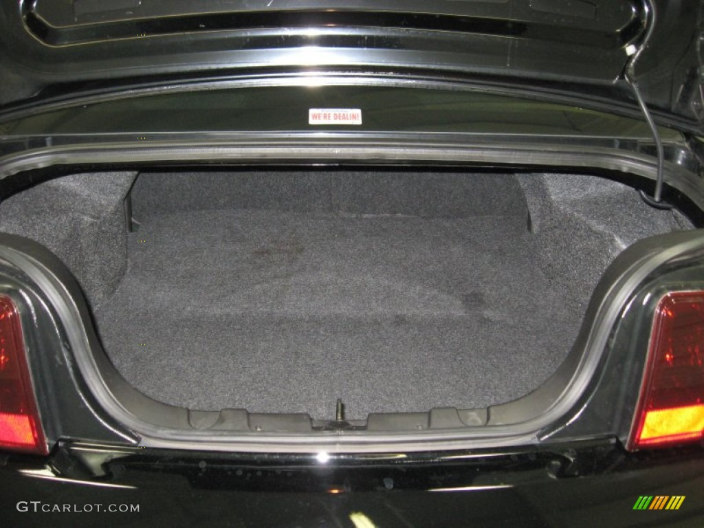 2006 Ford Mustang GT Premium Coupe Trunk Photo #78296777