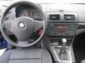 2008 BMW X3 Black Interior Dashboard Photo