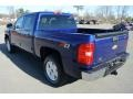 2013 Blue Topaz Metallic Chevrolet Silverado 1500 LT Crew Cab 4x4  photo #4