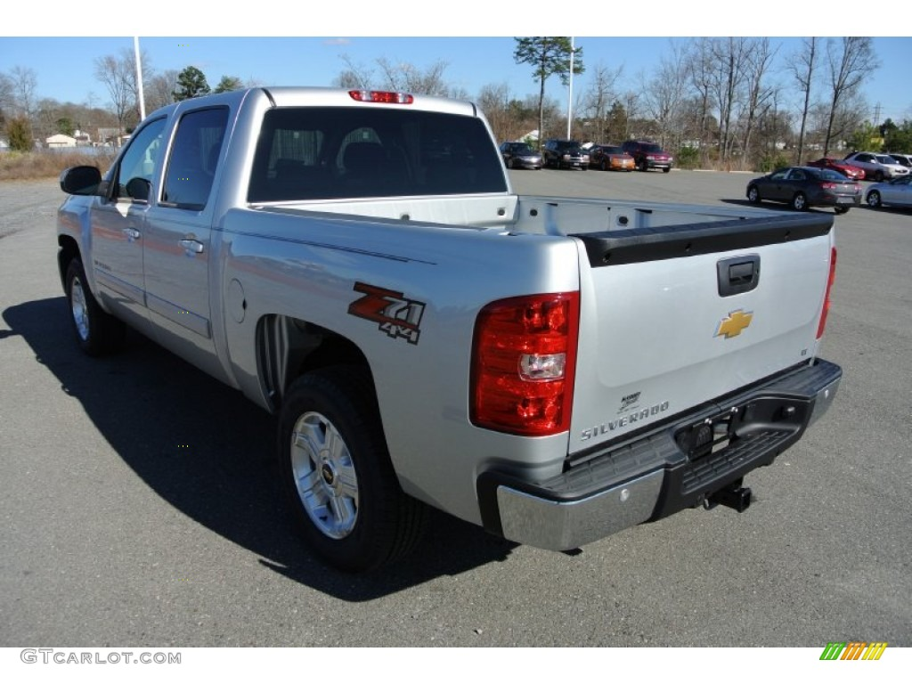 2013 Silverado 1500 LT Crew Cab 4x4 - Silver Ice Metallic / Ebony photo #4