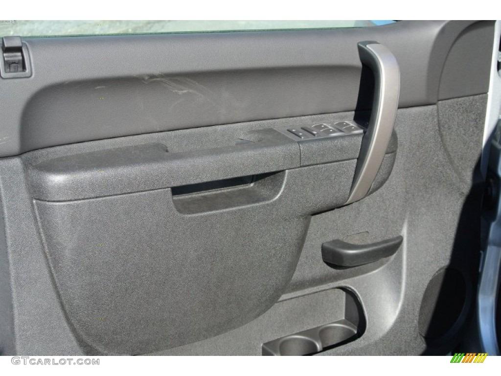 2013 Silverado 1500 LT Crew Cab 4x4 - Silver Ice Metallic / Ebony photo #9